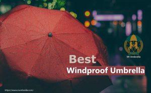 Best Windproof Umbrella