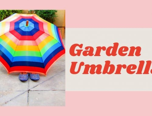 Garden Umbrella – Types of Garden Umbrellas