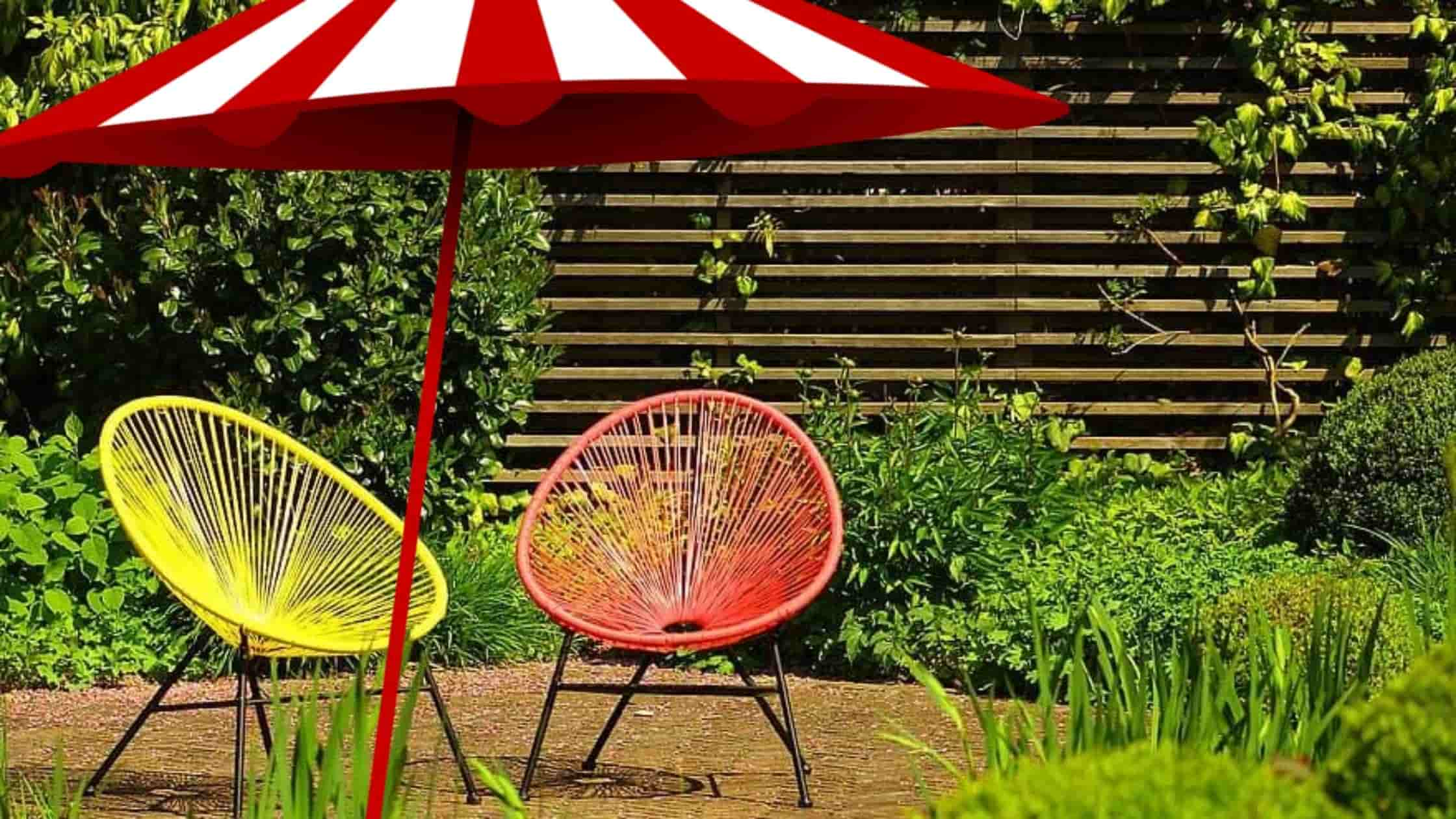 UV Protected Garden Umbrella
